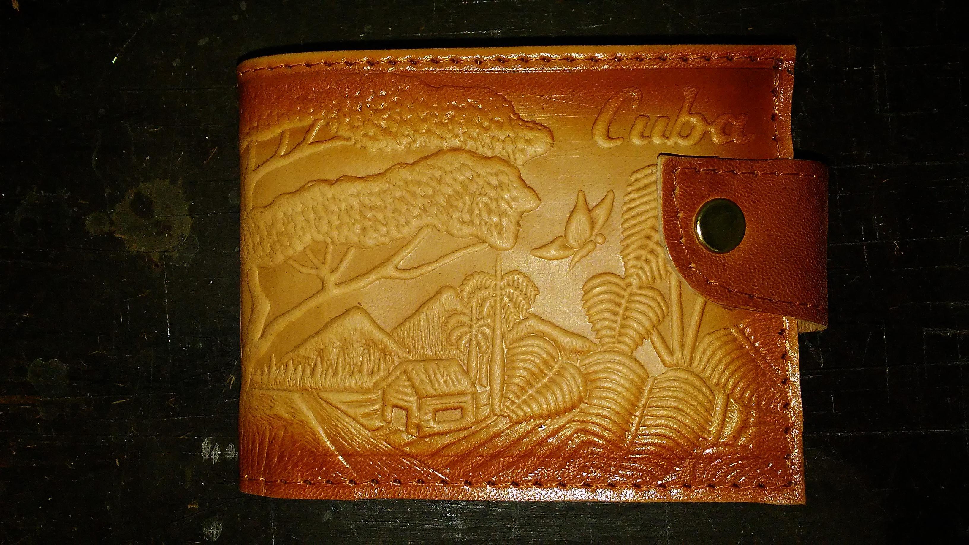 Billeteras de cuero artezanales